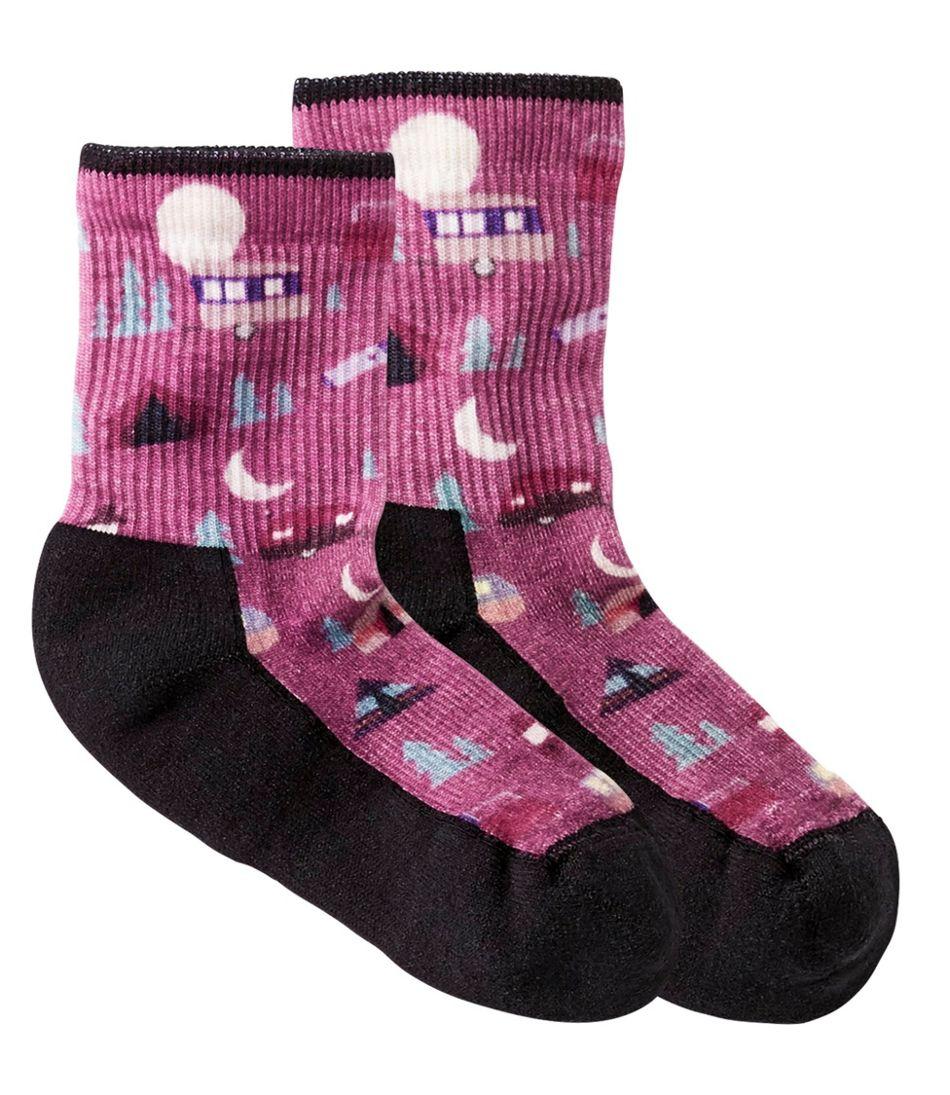 Kids' SmartWool Summer Nights Medium Hike Socks