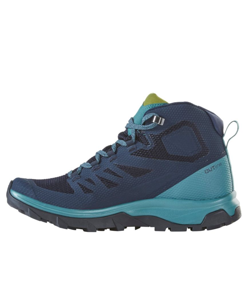 salomon outline mid gtx w womens hiking boot womens