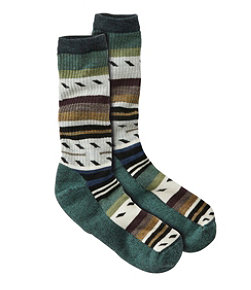 Men's Smartwool Margarita Hike Light Crew Socks, Stripe