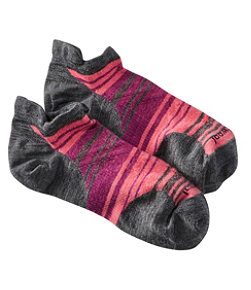 Women's Smartwool PhD Run Ultralight Micro Socks, Striped