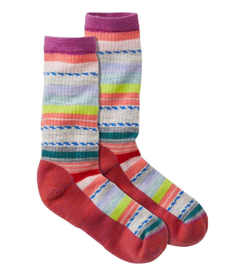 Women's Smartwool Margarita Hike Light Socks, Stripe