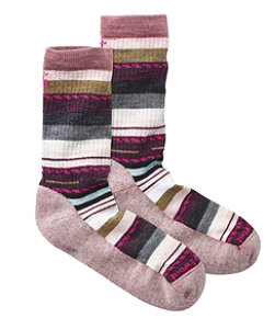 Women's Smartwool Margarita Hike Light Socks, Stripe