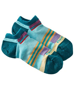Women's Darn Tough Stripe No-Show Socks
