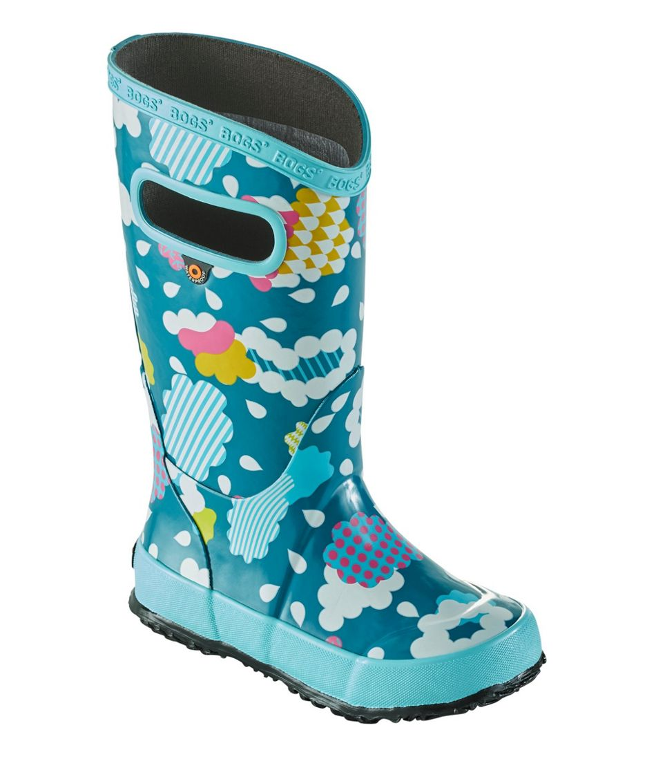 Kids' Bogs Rain Boots, Clouds