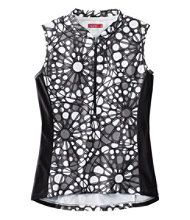 Women's Terry Breakaway Mesh Cycling Jersey, Sleeveless