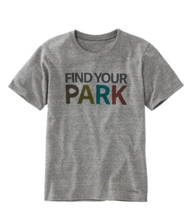 Kids' National Park Tee, Find Your Park