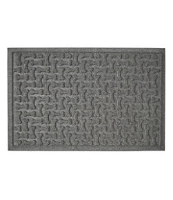 Recycled Waterhog Dog Mat, Herringbone