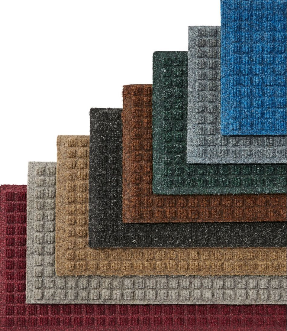 Everyspace Recycled Waterhog Mat, Stair Treads, Set of Four