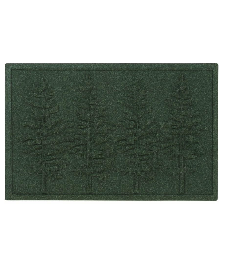 Everyspace Recycled Waterhog Doormat, Fir Trees