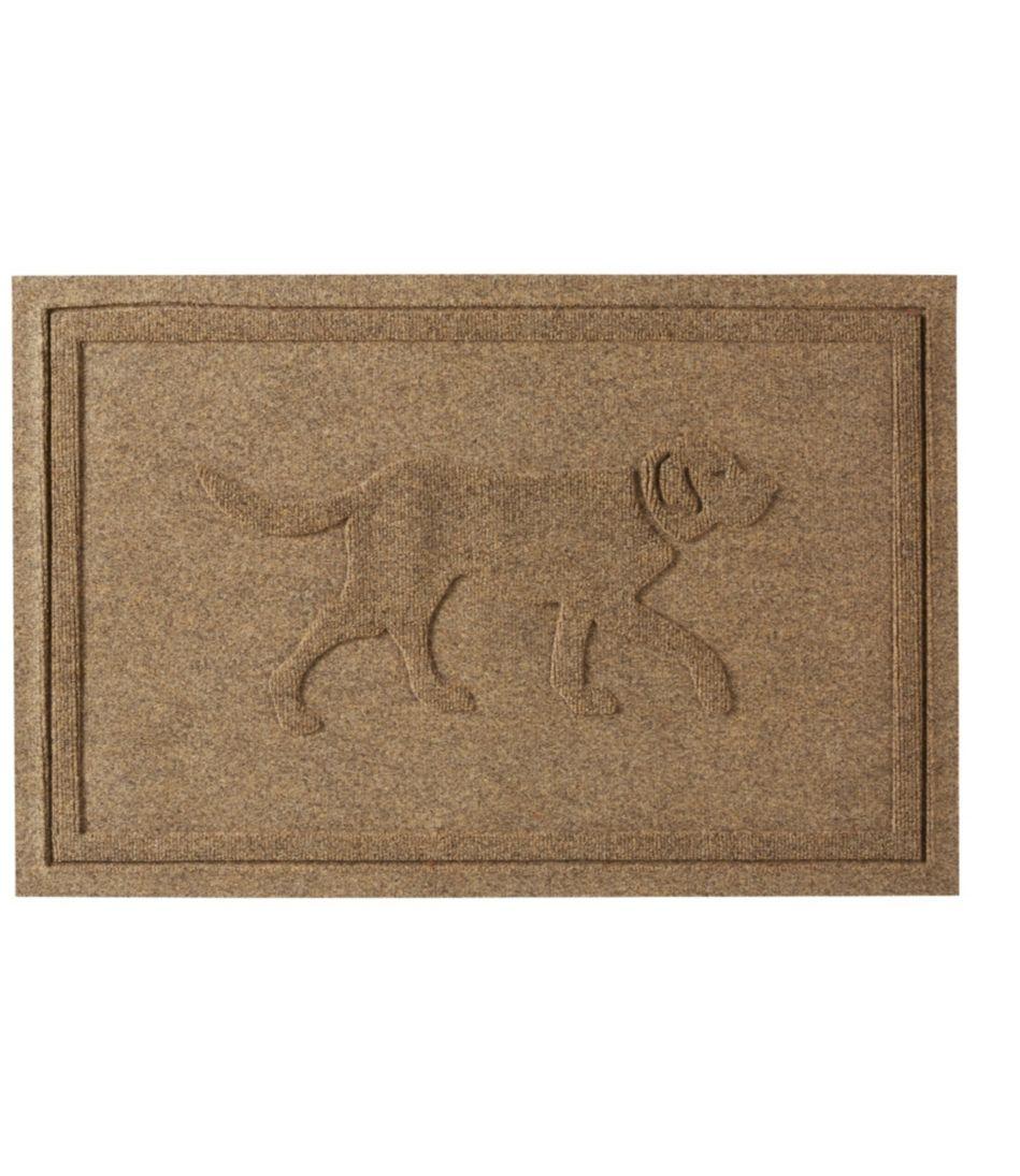 Everyspace Recycled Waterhog Doormat, Dog