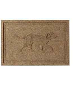 Everyspace Recycled Waterhog Doormat, Dog