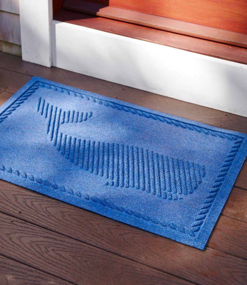 Everyspace Recycled Waterhog Doormat, Whale