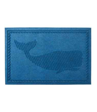 Everyspace Recycled Waterhog Doormat, Whale