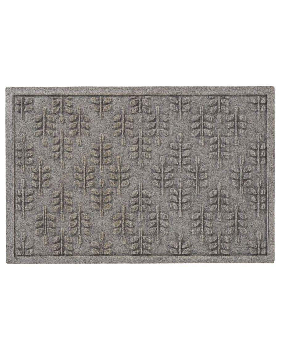 Everyspace Recycled Waterhog Doormat, Twig Leaf