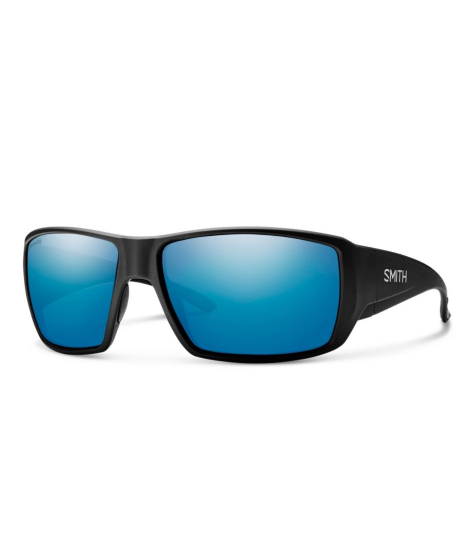 Smith Guide's Choice Polarized Fishing Sunglasses with ChromaPop, Mirror Lens