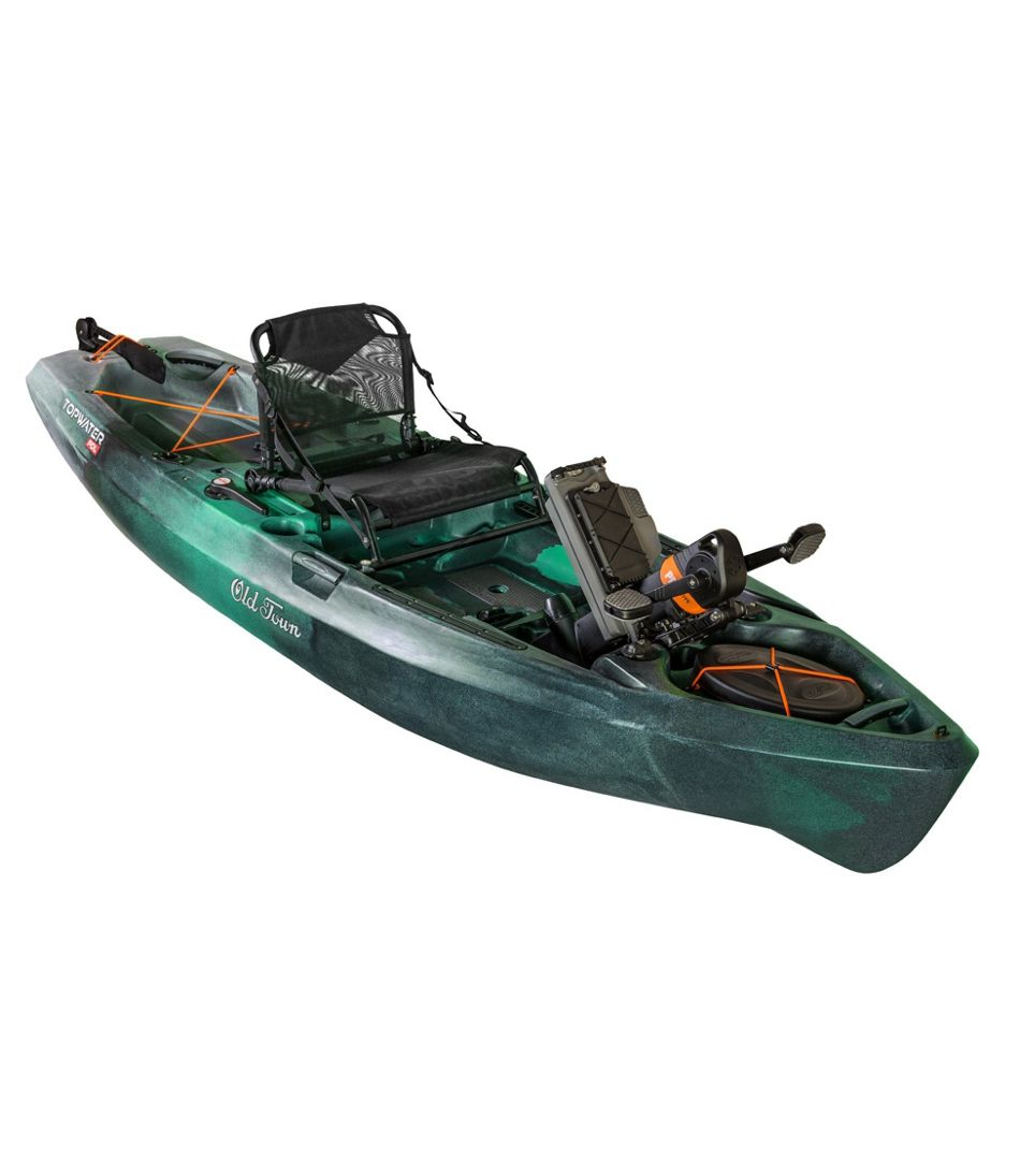 Old Town Topwater Pedal-Drive Angler Kayak