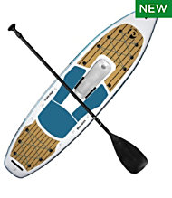 Pau Hana Calypso Air Inflatable Stand-Up Paddleboard/Kayak Package, 11'6""
