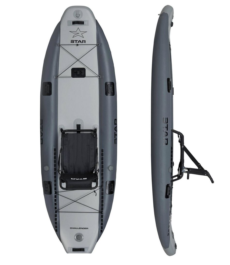 Star Challenger Inflatable Fishing Kayak