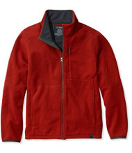 Men's Windproof Sweater Fleece Jacket