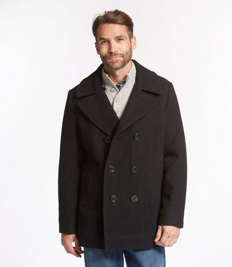 Men's L.L.Bean Wool Peacoat