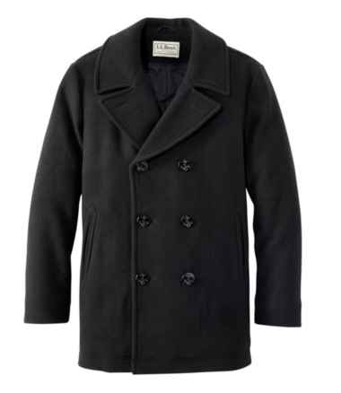 Men's L.L.Bean Wool Peacoat
