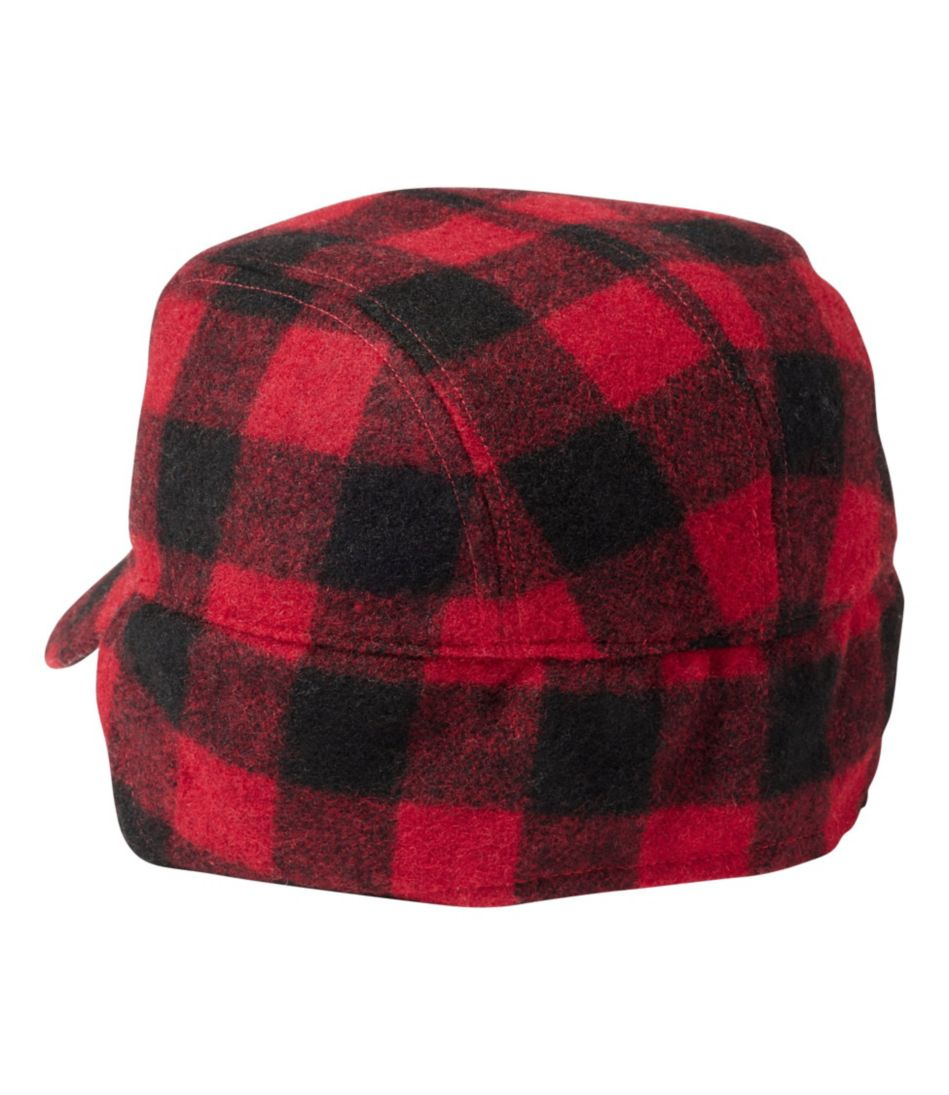Maine Guide Wool Cap with Primaloft, Plaid