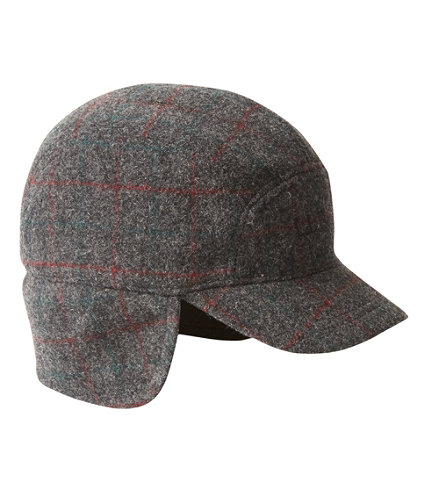 Maine Guide Wool Cap With Primaloft Plaid