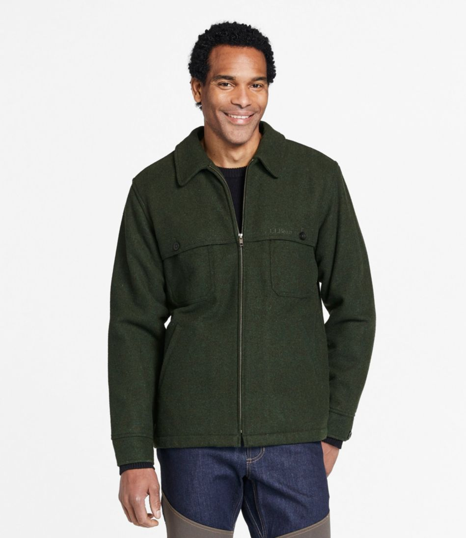 Maine Guide Zip-Front Jac-Shirt With Primaloft
