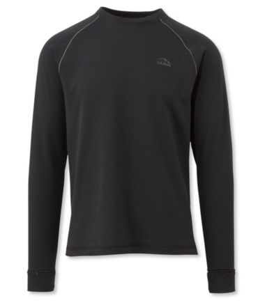 Polartec Power Dry Stretch Base Layer, Expedition Weight Crewneck