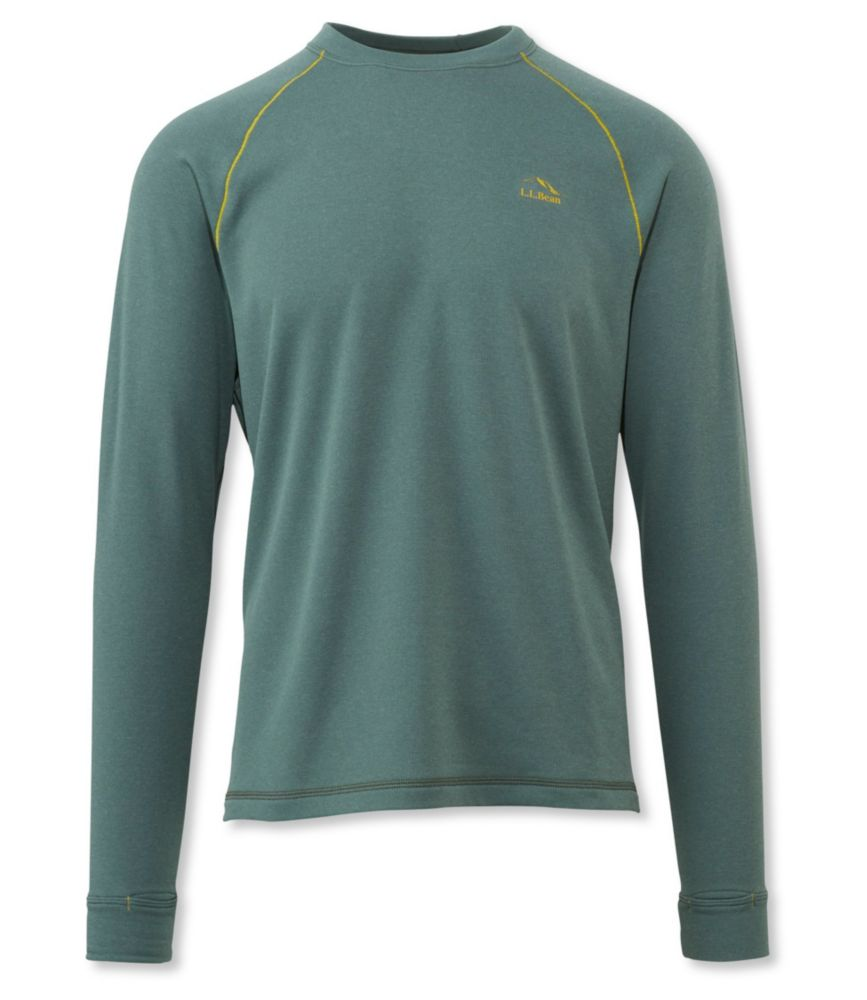 L.L.Bean Polartec Power Dry Base Layer, Crew Expedition Weight