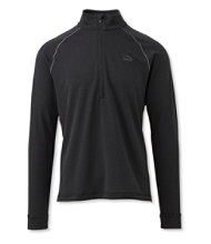 Polartec Power Dry Stretch Base Layer, Expedition-Weight, Quarter-Zip