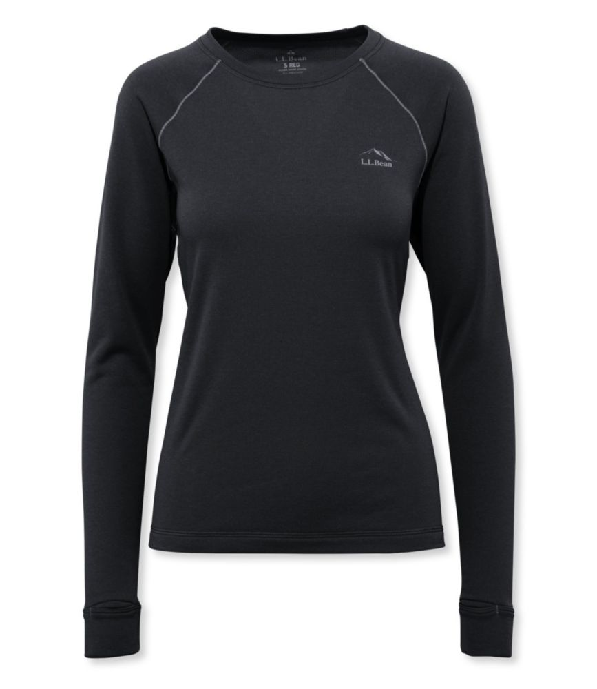 L.L.Bean Expedition Weight Long-Sleeve Crew