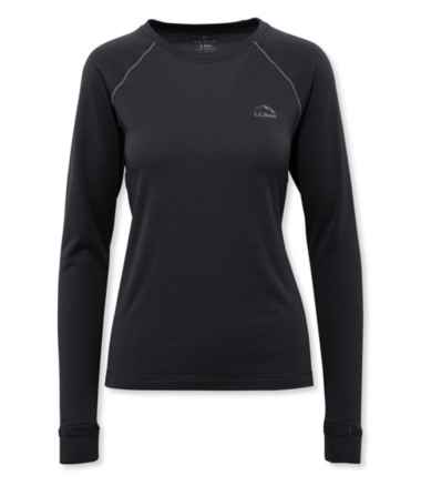 Women's Power Dry Stretch Base Layer, Expedition-Weight Long-Sleeve Crew
