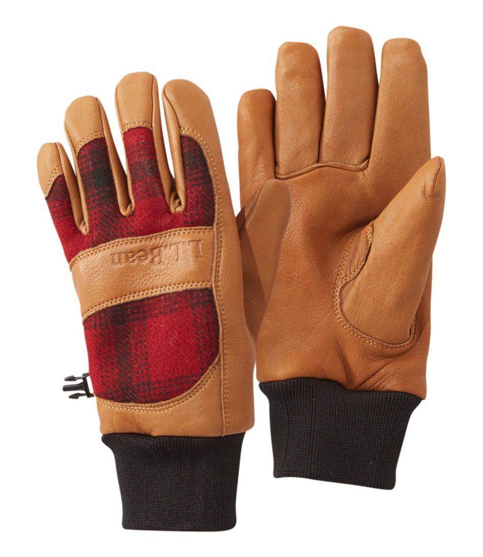 Rangeley Waterproof Gloves, Plaid