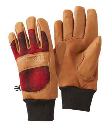 Women's Rangeley Waterproof Gloves, Plaid