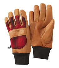 Rangeley Waterproof Gloves, Plaid