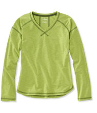 Girls' Trail Tee, Long-Sleeve