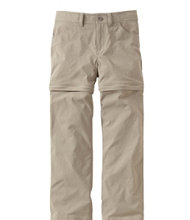 Girls' Trekking Zip-Off Pants