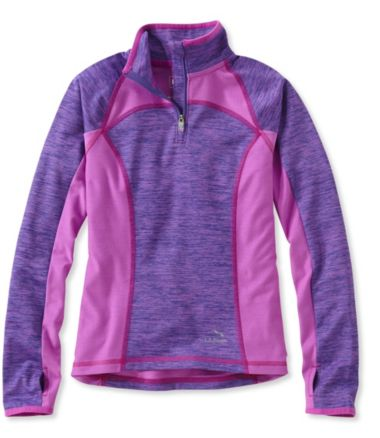 Girls' L.L.Bean Tech Quarter-Zip