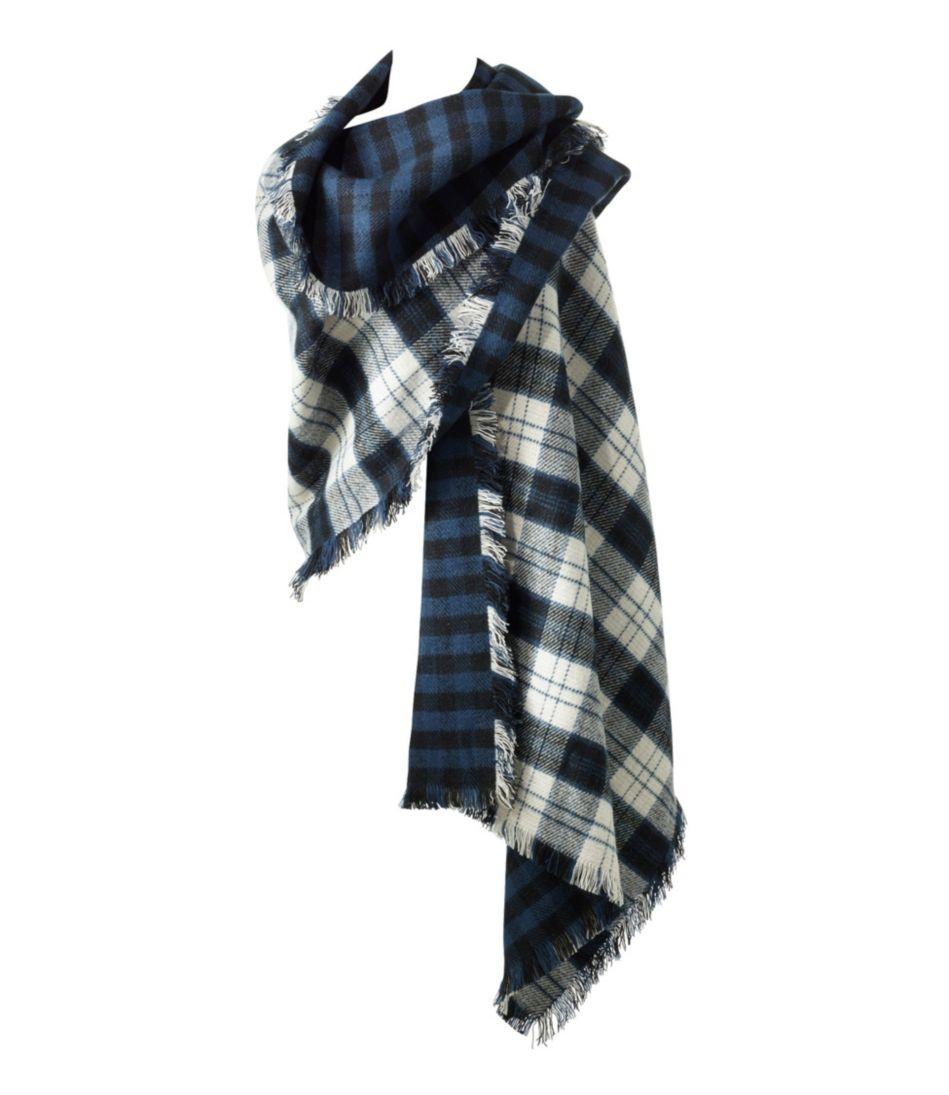 L.L.Bean Blanket Scarf, Plaid