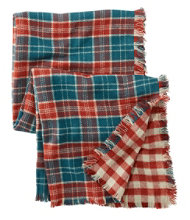 L.L.Bean Blanket Scarf, Plaid