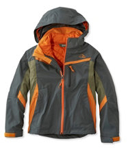 Boys' Peak Waterproof Insulated 3-in-1 Jacket