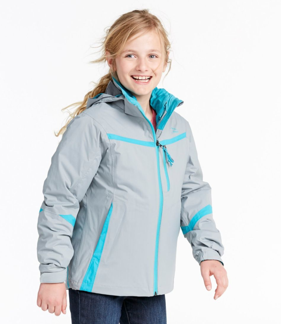 Girls' Peak Waterproof Insulated 3-in-1 Jacket