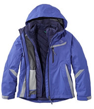 Girls' Peak Waterproof Insulated 3-in-1 Jacket