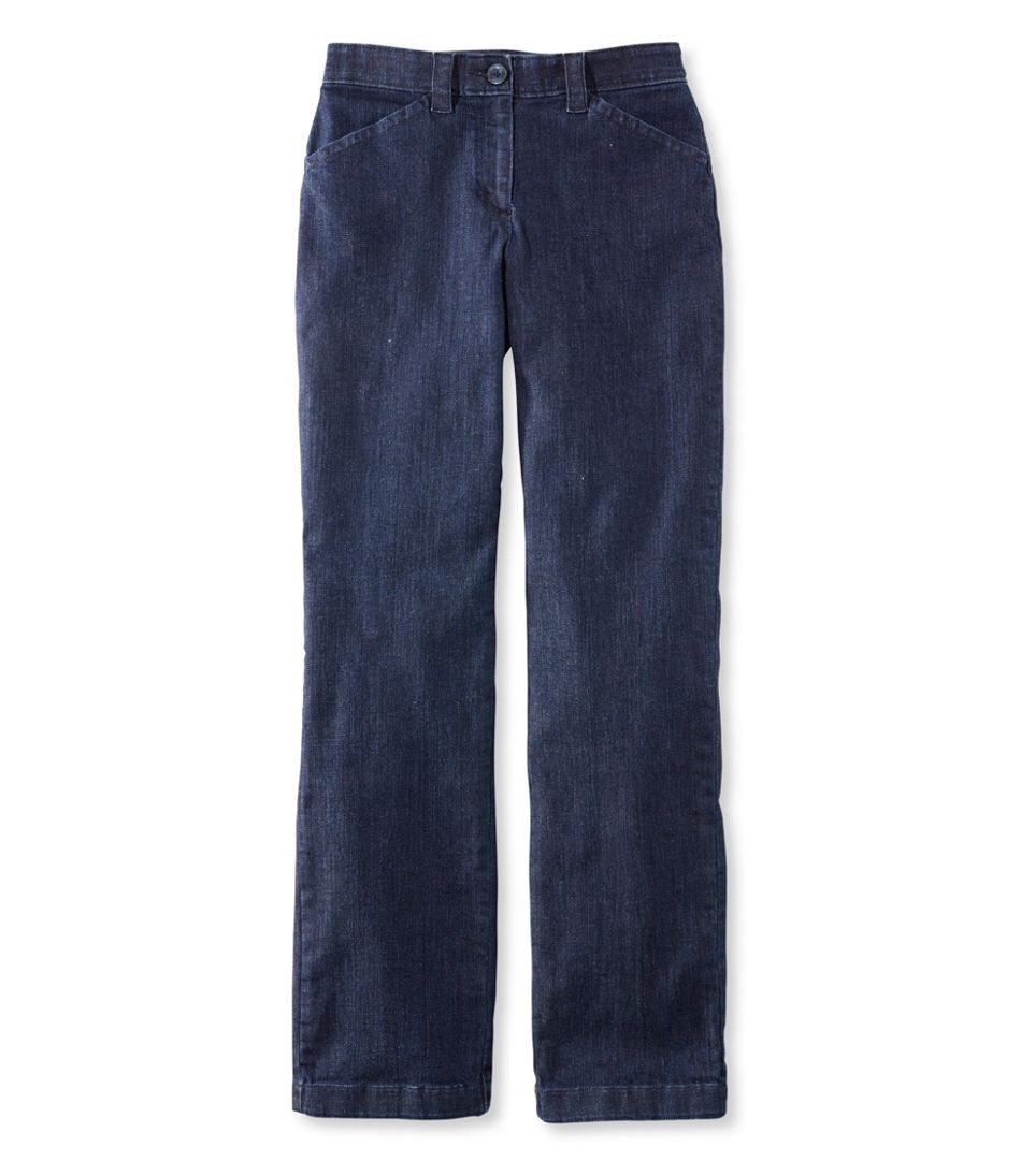 Easy-Stretch Pants, Denim