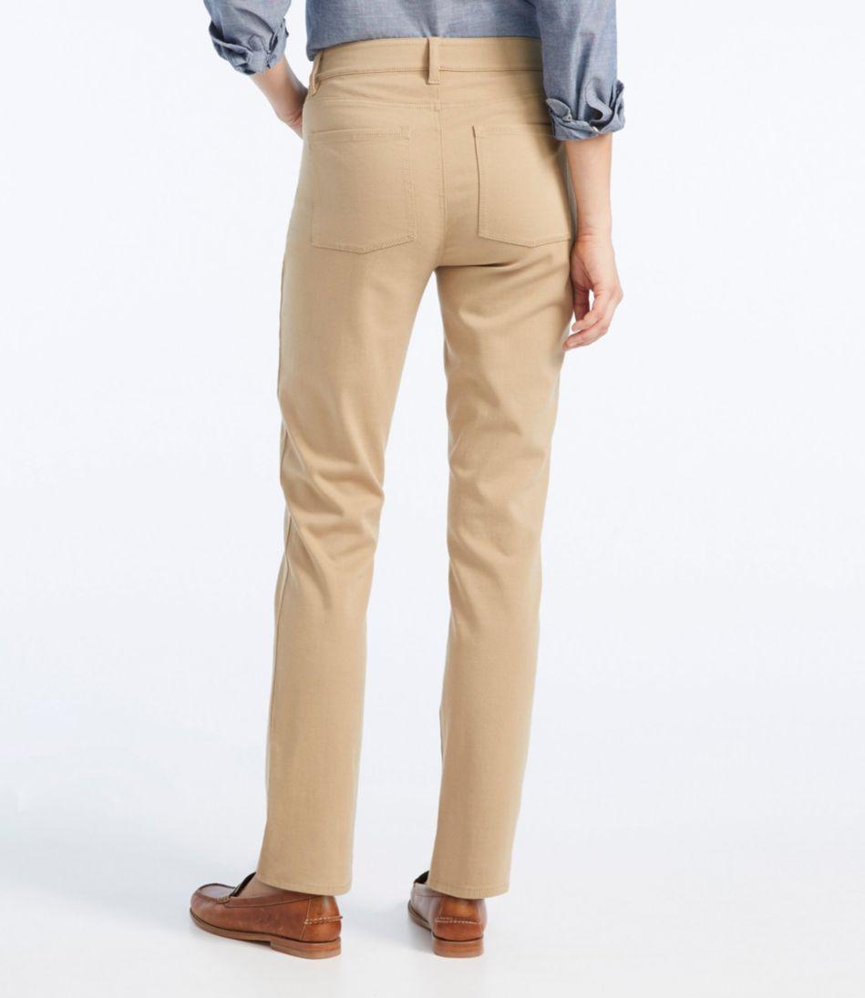 True Shape Twill Pants, Slim-Leg