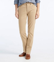 True Shape Twill Pants, Slim-Leg