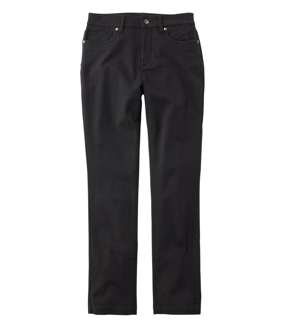 Women's True Shape Twill Pants, Slim-Leg