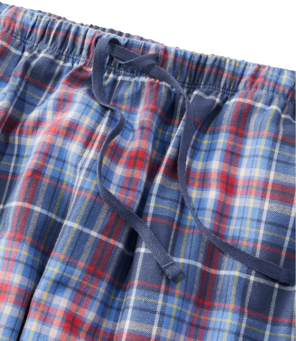 Women's L.L.Bean Flannel Sleep Pants, Plaid