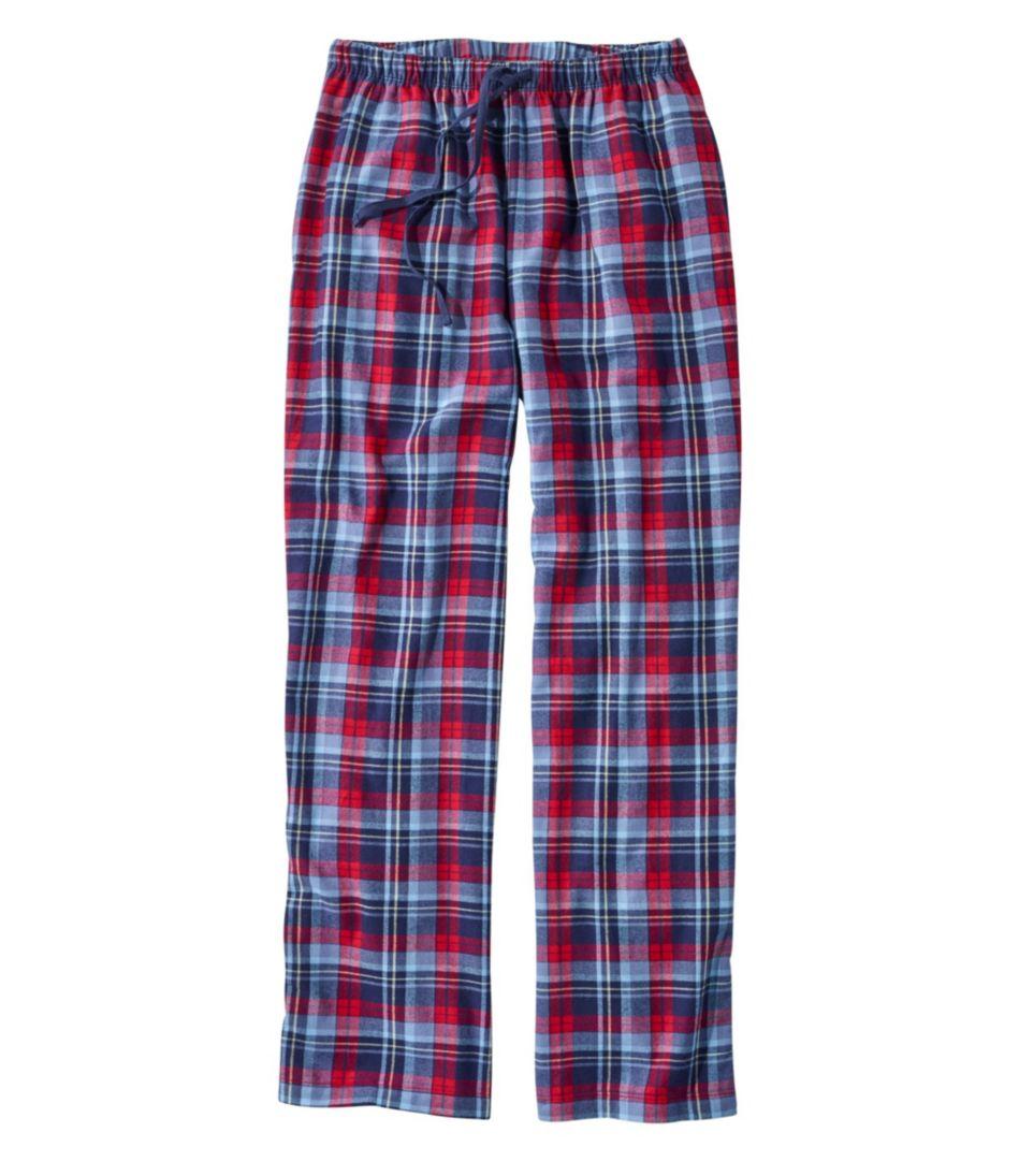 L.L.Bean Flannel Sleep Pants, Plaid